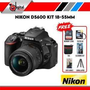 Harga nikon d5600 kit af p dx 18 55mm f 3 5 5 6g vr paket | HARGALOKA.COM