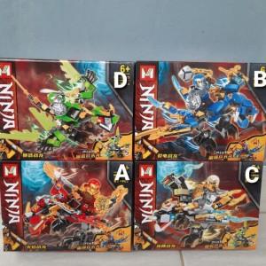 Harga mainan lego brick ninja ninjago kai llyod jay cole naga dragon   HARGALOKA.COM
