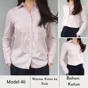 Harga baju wanita berbagai model blouse style korea   model 46 | HARGALOKA.COM