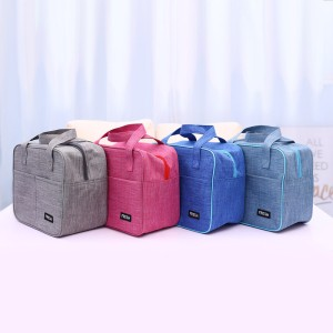 Harga cooler bag lunch bag tas bekal makanan penahan panas dingin   2   dark | HARGALOKA.COM