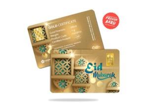 Harga emas antam 1 gram gift series   selamat idul fitri   ied | HARGALOKA.COM