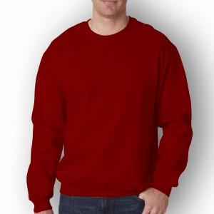 Harga baju pria polos lengan panjang distro baju sweatshirt pria terbaru   marun | HARGALOKA.COM