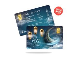 Harga emas antam 0 5 gram gift series   selamat idul | HARGALOKA.COM