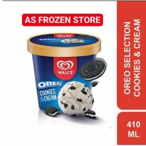 Harga es krim walls oreo cookies and cream 410ml ice cream walls | HARGALOKA.COM