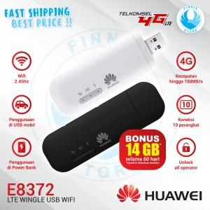 Harga huawei e8372 usb modem mifi wingle 4g lte unlocked version   | HARGALOKA.COM