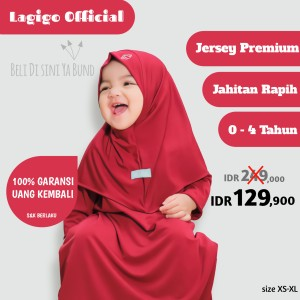 Harga baju muslim gamis bayi 6 12 bulan anak perempuan 1 2 3 4 tahun maroon   maroon xs 6 11 bulan | HARGALOKA.COM