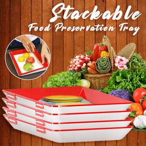 Harga vacuum sealer food preservation tray rak kulkas organizer | HARGALOKA.COM