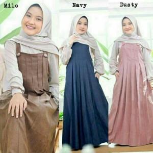 Harga lyala kids 9th 14th baju muslim anak perempuan gamis anak perempuan   maron 9 10 | HARGALOKA.COM