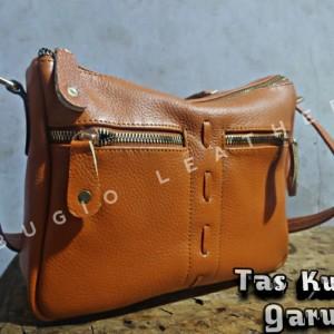 Harga tas selempang kulit wanita papirut kulit asli garut bg002   | HARGALOKA.COM