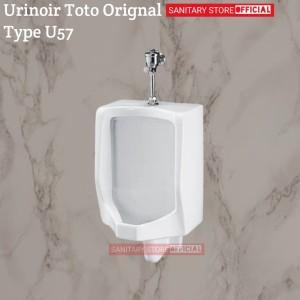 Harga urinoir toto u57 original push valve t60p urinal toto | HARGALOKA.COM