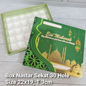 Harga dus box nastar sekat lebaran 20 30 hole   30 | HARGALOKA.COM