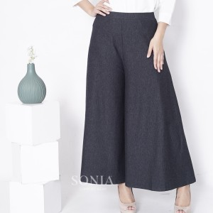 Harga celana kulot sonia jeans denim spandex celana panjang long pants   | HARGALOKA.COM