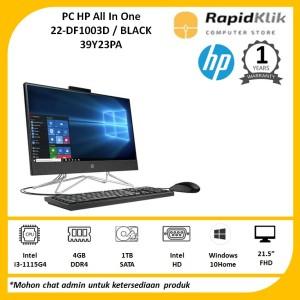 Harga pc hp all in one 22 df1003d i3 1115g4 4gb 1tb windows 39y23pa   packing | HARGALOKA.COM