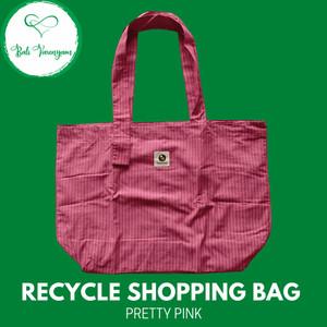 Harga tas belanja daur ulang recycle shopping bag bungkus barang cantik   pretty | HARGALOKA.COM