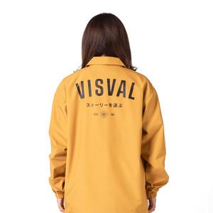 Harga jacket coach maki   visval   mustard   jaket parasut   | HARGALOKA.COM