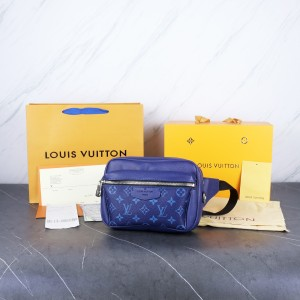 Harga tas beltbag lv louis vuitton bumbag outdoor blue mirror 1 1 | HARGALOKA.COM