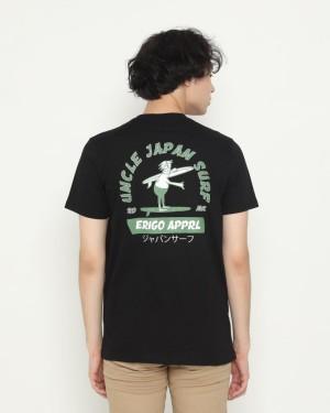 Harga erigo t shirt uncle japan black   | HARGALOKA.COM