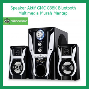 Harga speaker aktif gmc 888k bluetooth multimedia murah | HARGALOKA.COM