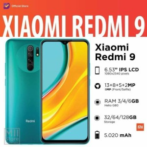 Harga xiaomi redmi 9 ram 3 32 4 64 gb   garansi resmi   emas ram 3 32   HARGALOKA.COM