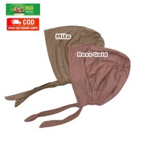 Harga inner basic turki kaos rayon premium ciput arab tali   | HARGALOKA.COM