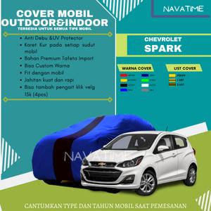 Harga cover waterproof premium cover sarung mobil chevrolet spark new   2warna tulis | HARGALOKA.COM