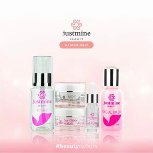 Harga cream justmine beauty skincare acne untuk kulit wajah | HARGALOKA.COM