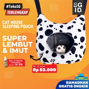 Harga new sleeping pouch cat house sugar glider hanya di adewap | HARGALOKA.COM