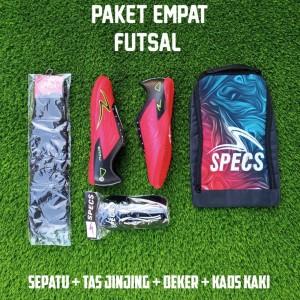 Harga gratis ongkir paket komplit sepatu futsal lebih murah lebih hemat     HARGALOKA.COM
