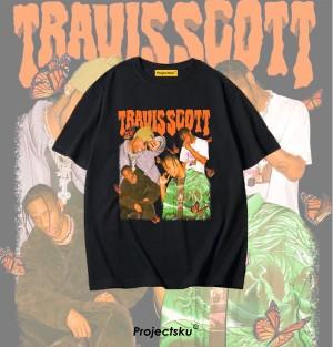 Harga tshirt baju custom travis scott   gambar uk a4 | HARGALOKA.COM