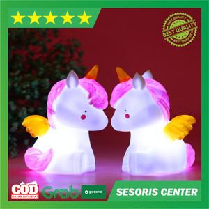 Harga lampu tidur untuk bayi malam model pegasus unicorn lucu | HARGALOKA.COM
