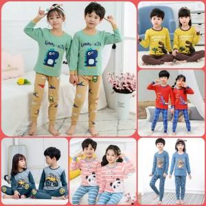 Harga setelan baju tidur anak  baju piyama anak laki laki   perempuan | HARGALOKA.COM