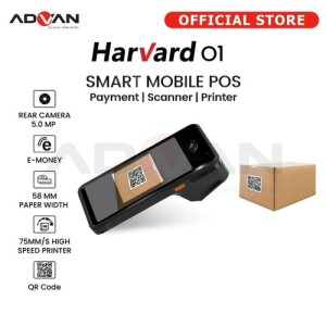 Harga mesin kasir android pos advan harvard thermal printer 58mm 4g with | HARGALOKA.COM