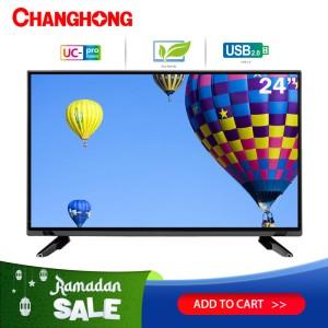 Harga 24 inch led tv changhong 24g3 hd tv hdmi usb | HARGALOKA.COM