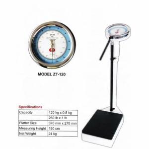 Harga timbangan pengukur tinggi badan zt120 onemed alat ukur berat   HARGALOKA.COM