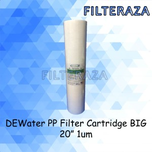 Harga dewater pp filter cartridge big 20 34 inch 1 micron   HARGALOKA.COM
