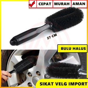 Harga sikat velg wheel brush sikat pembersih velg sikat ban motor | HARGALOKA.COM