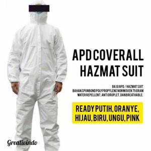 Harga apd baju hazmat baju coverall corona | HARGALOKA.COM