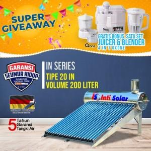 Harga inti solar water heater is 20 in 200liter pemanas air tenaga | HARGALOKA.COM