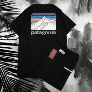 Harga kaos baju tshirt tees patagonia mountain cotton 30s size l xl hitam   | HARGALOKA.COM