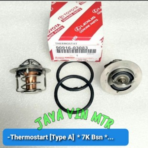 Harga thermostat termostat coolant toyota kijang 7k kapsul   HARGALOKA.COM