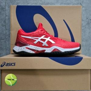 Harga sepatu tenis asics court ff 2 novak classic red white   | HARGALOKA.COM