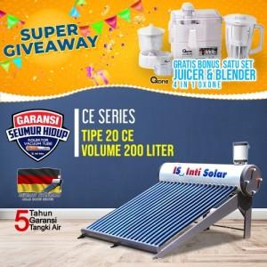 Harga inti solar water heater is 20 ce 200liter pemanas air tenaga | HARGALOKA.COM