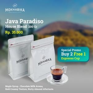 Harga mokhabika specialty kopi java paradiso house blend 200 | HARGALOKA.COM