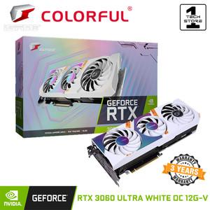 Harga vga colorful igame geforce rtx 3060 ultra white oc 12g v 12gb   HARGALOKA.COM