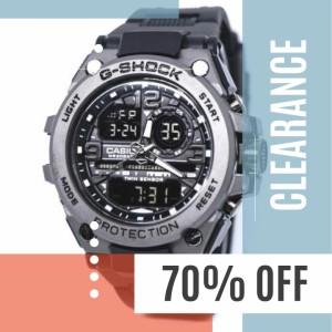 Harga jam tangan pria murah gshok 2395 analog digital jam sporty   HARGALOKA.COM