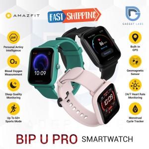 Harga amazfit bip u pro smartwatch sport jam tangan digital garansi resmi   hitam versi | HARGALOKA.COM