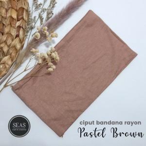 Harga ciput bandana dalaman kerudung inner hijab   pastel | HARGALOKA.COM