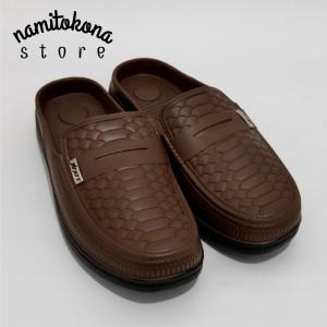 Harga sepatu sandal pria karet att abk 581 sepatu sandal karet santai casual   | HARGALOKA.COM