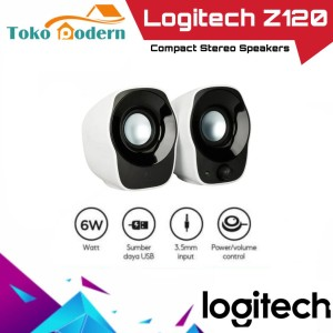Harga logitech z120 speaker portable speaker laptop pc komputer | HARGALOKA.COM