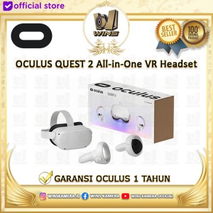 Harga oculus quest 2 all in one vr gaming system headset original   | HARGALOKA.COM